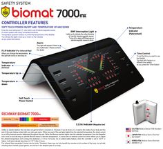 New #BIOMAT 7000mx control box. Buy your Biomat at www.richwayeu.com - exclusive distributor for EU. Cheapest prices in EU! Need more information? info@richwayeu.com