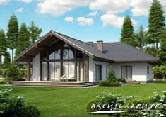 House Plans Mansion, Dream House Plans, Architectural Design House Plans, Architecture Design, Interior Paint Colors For Living Room, Beautiful House Plans, Small Cottage Homes, Bungalow House Design, A Frame House