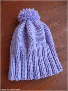 .   Nie nosiłam czapki i się przeziębiłam. Ale już mam nową, ciepłą czapkę. Robiłam ją zakatarzona po pas, solenie sobie obiecując, ż...