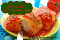 Slow-Cooker Stuffed Cabbage Rolls -- comfort food for Phase 1 (use brown rice here).