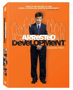 Arrested Development - 2nd Season Package Colored in 'Prison Orange' Box