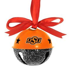 Oklahoma State Cowboys Jingle Bell Ornament