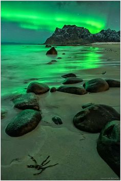 Northern lights over the beach - Holiday$pots4u