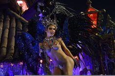 Carnevale di Rio, le sfilate delle scuole di samba