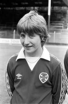 1981 - John Robertson.  A young lad then, who went on to be a legend.