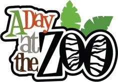 A Day at the Zoo SVG scrapbook title svg files for scrapbooking cardmaking cute svg cuts for scrapbooks Scrapbook Titles, Baby Scrapbook, Scrapbooking Layouts, Scrapbook Cards, Digital Scrapbooking, Scrapbook Images, Scrapbook Borders, Scrapbook Stickers, Cute Clipart