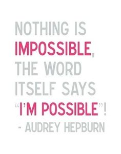 Nothing is impossible. Don't forget this. Be persistent. The lord hears your prayers and will answer them.