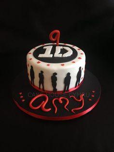 #9th Birthday Cake - One #Direction Cake