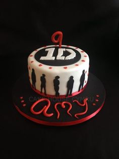 #9th Birthday Cake - One #Direction Cake