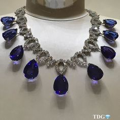 OH JACOB - YOU ROCK MY WORLD!!! Everything about @jacobandco fine jewelry delights me - this is without a doubt one of the most spectacular sapphire necklaces I have ever seen.... You are a genius @jacobandco