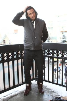 Bowlegged perfection .....  Jesse Williams