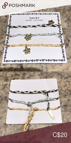 Shop Women's Marc Jacobs size OS Bracelets at a discounted price at Poshmark. Marc Jacobs Bracelet, Marc Jacobs Jewelry, Bracelet Set, Jewelry Bracelets, Colorful Bracelets, Arrow Necklace, Daisy, Women Jewelry, Best Deals