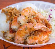 Savory Kahuku Style Shrimp . . . http://concasse.blogspot.com/2009/11/giovannis-garlic-shrimp-oahus-north.html