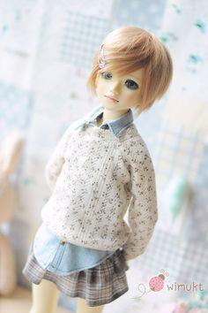 U-noa Sweaters-T-Sweters by wimukt on Etsy