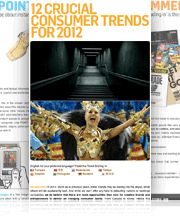 12 CRUCIAL CONSUMER TRENDS FOR 2012