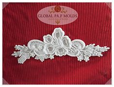 Handmade Silicone Fondant Mould/new Lace Mold 5ll