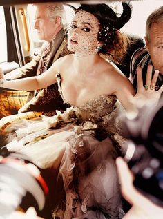 Helena Bonham Carter. Vanity Fair Best Dressed. Amaze.