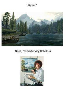 F'ing Bob Ross