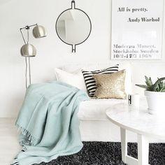 White Lounge Room