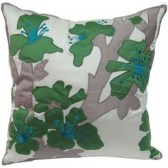 Morocco Poppy | Rapee Morocco, Poppy, Cushions, Throw Pillows, Green, Palette, Organic, Colour, Living Room