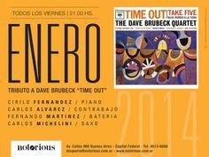 Tributo a The Dave Brubeck Quartet 2014