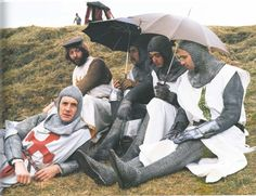 Monty Python in search of the Holy Grail