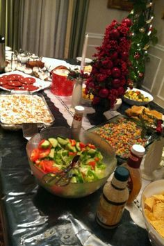 Christmas eve snacks and appetizers