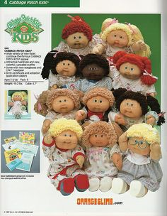 Image result for Cabbage patch kids picture