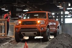 TOYOTA Tacoma TRD PRO Series at the 2014 Chicago Auto Show
