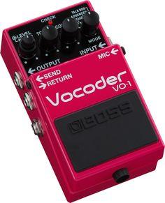 BOSS - VO-1   Vocoder
