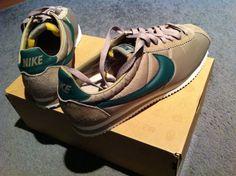 Nike Classic Cortez VNTG khaki/george green-sail - found their home :-)