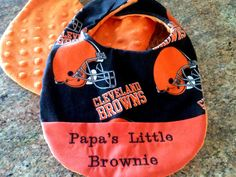 Infant Cleveland Browns Brown Most Official Creeper