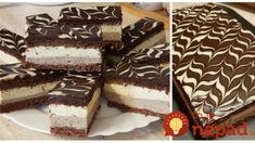 Lahodný vanilkový zákusok s fantastickou chuťou za 30 minút: Za ten dezert vás bude rodina nosiť na rukách! Tiramisu, Baking, Ethnic Recipes, Sweet, Food, Candy, Bakken, Essen, Meals