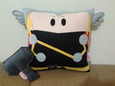 Thor pillow, via Etsy
