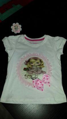 Camiseta dolls #patchwork