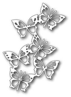 Memory Box Fairyland Butterflies craft die NEW 2015 #memorybox #morningsunstudio
