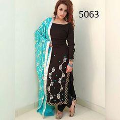M-Preet Indian salwar Click visit link above to see Salwar Suits Party Wear, Punjabi Salwar Suits, Designer Punjabi Suits, Indian Designer Wear, Pakistani Dresses, Indian Dresses, Punjabi Fashion, Indian Fashion, Patiala Suit Designs