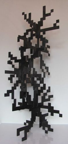 Abstract Contemporary Modern Civic Urban sculpture statue statuary by Pete Moorhouse titled: 'Thought Pattern'. Steel Sculpture, Garden Sculpture, Statues For Sale, Outside Decorations, Abstract Pattern, Pattern Art, Abstract Sculpture, Public Art, Islamic Art