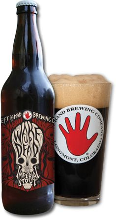 Barrel Aged Wake Up Dead Stout | Left Hand Brewing Company