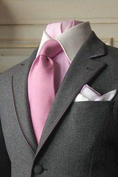 Wedding Suits Men Pink Menswear Ideas For 2019 Sharp Dressed Man, Well Dressed Men, Suit Fashion, Mens Fashion, Pink Ties, Dress For Success, Suit And Tie, Gentleman Style, Wedding Suits