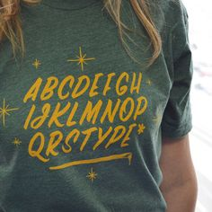Not Actually Type t-shirt