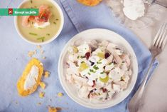 Letní salát s jogurtovým dresinkem Definition Of Health, Chicken Salad With Grapes, Social Well Being, Tone It Up, Healthy Chicken, Eating Habits, Health Fitness, Diet, Cooking