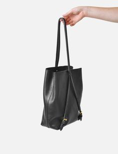 How To: Minimal Phillip Lim-Inspired Leather Backpack | Contour ...