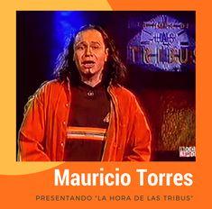 """Mauricio Torres, conductor de """"La Hora de las Tribus"""""""