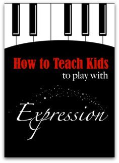 Piano Instruction How To Teach Expressive Piano Playing - 5 ways to teach expression to piano students. - With these 5 tips your piano students can learn to play with expression and feeling. Violin Lessons, Drum Lessons, Singing Lessons, Music Lessons, Music Lesson Plans, Singing Tips, Piano Classes, Piano Teaching, Learning Piano