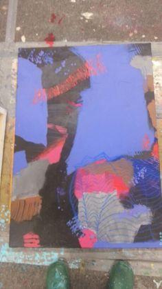 Acryl auf Leinwand 70 * 100cm
