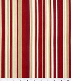 """45"""" Home Essentials Print Fabric-Glee/Red"""