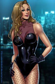Black Canary by Salamandra88.deviantart.com on @DeviantArt
