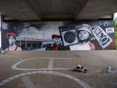 Big Walls By Meo974, Nayh 96, Heype, Saint-Pierre #graffiti #street #art