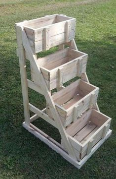 Crate Display Stand Plan / Wood Display Stand Plan / Display Stand Plan / Wood Crate Craft Plan / Craft Crate Plan / Craftshow Plan / 4 Tier Stand Plans - Trend Old Furniture 2019 Diy Garden Furniture, Furniture Projects, Pallet Furniture, Furniture Design, Furniture Dolly, Furniture Movers, Furniture Stores, Furniture Makeover, Furniture Decor